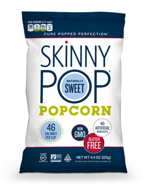 SkinnyPop Naturally Sweet