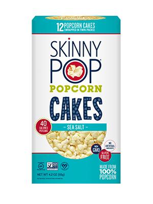 Skinny Pop Popcorn Cakes Nutrition