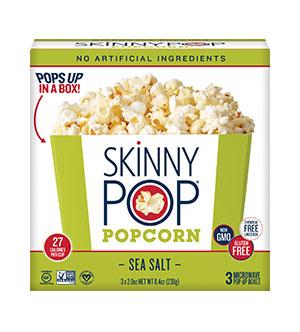 Microwave Popcorn Sea Salt