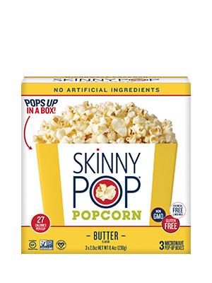 Butter Microwave Popcorn   SkinnyPop Popcorn