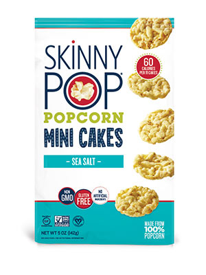 Sea Salt Popcorn Mini Cakes