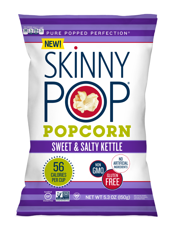 Sweet And Salty Kettle Popped Popcorn Popcorn Skinnypop