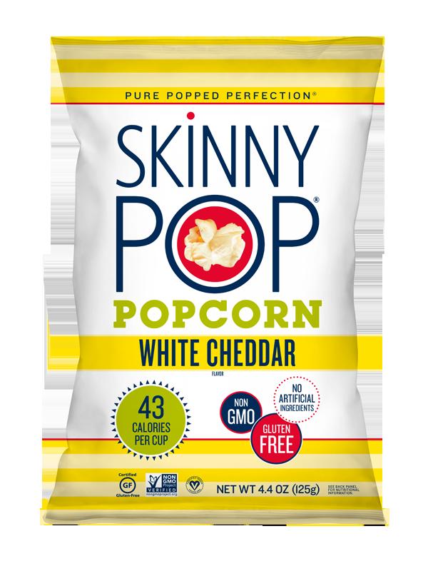 White Cheddar Popped Popcorn Popcorn